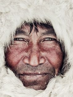 """Siberia: the Nenets are completely isolated reindeer herders, living with temperatures from minus 50°C in winter to 35°C in summer. By Jimmy Nelson in """"Before they pass away"""""""