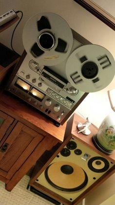Vintage Akai SW175 speakers