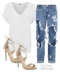 """""""Untitled #731"""" by thecurvyfashionista ❤ liked on Polyvore featuring WearAll, One Teaspoon and Tony Bianco"""