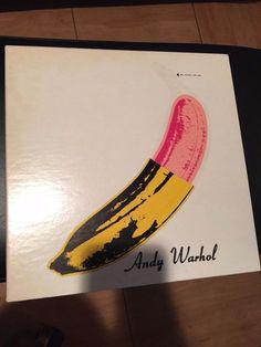VELVET UNDERGROUND & NICO HALF PEELED BANANA ANDY WARHOL LP 5008