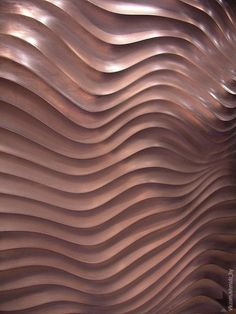 Architectural Wall Tiles - Recreate this texture on your walls with Wave Tiles… Tiles Texture, Texture Art, Rose Gold Texture, Wall Patterns, Textures Patterns, Beach Pattern, Rose Gold Aesthetic, Aesthetic Art, Wall Treatments