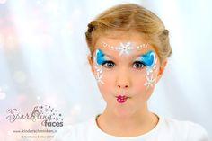 - Famous Last Words Girl Face Painting, Face Painting Designs, Love Painting, Painting For Kids, Up Personajes, Frozen Face Paint, Clown Face Paint, Christmas Face Painting, Clown Faces