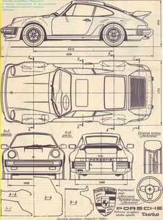 Sketch of Porsche 911. Kinda' cool.