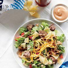 The Cheeseburger Salad | MyRecipes.com