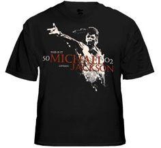 "Black Michael Jackson ""Scream"" T-Shirt."