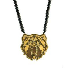 Bear Pendant - Necklace