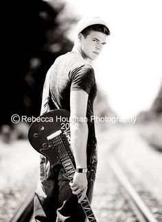 Senior Photos For Boys With Guitar   Google Search
