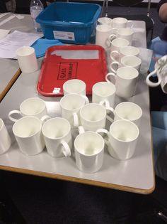 Mugs, lots of mugs!