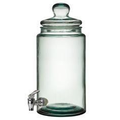 Glasburk Returglas m kran, 6Ltr