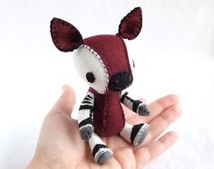 """Visola the Okapi Plush Doll"" by nonesuchrarden $100.00"