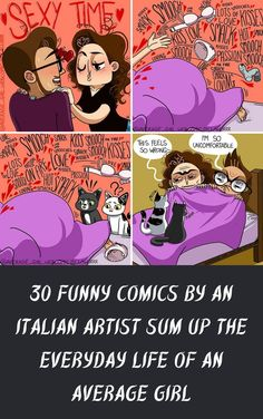 If you are reading this, you probably already know what it's like to be an average girl in today's world. #30 #FunnyComics #ItalianArtist #SumUp