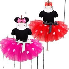 Baby Toddler Girl Kid Minnie Mouse Costume Party Outfit Xmas Fancy Tutu Dress up  sc 1 st  Pinterest & 2017-Newest-Kids-Christmas-Gift-Minnie-Mouse-Party-Fancy-Costume ...