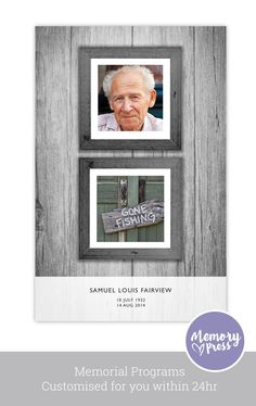 Lilac Funeral Program Design  Funeral Programming And Graphic