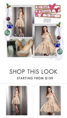 """Homecoming / HarryDress"" by enola-pycroft ❤ liked on Polyvore featuring Chinese Laundry, Prom, Homecoming and harrydress"