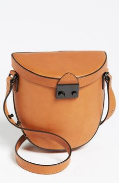 Loeffler Randall 'Shooter' Leather Crossbody Bag, Small available at #Nordstrom