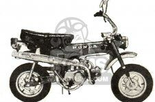 Honda ST70 DAX FRANCE parts lists and schematics Classic Honda Motorcycles, France, French