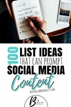 List of 100 ideas th