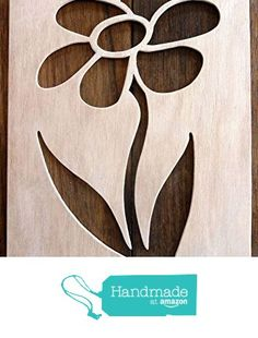 """Beautiful Large Sized Hand Crafted MDF 'Daisy' Design Drawing Template / Stencil - Size: 12"""" x 8.5"""" Overall (30cm x 21cm) from The Andromeda Print Emporium https://www.amazon.co.uk/dp/B01KC4Y4GO/ref=hnd_sw_r_pi_dp_IvURxbPAMXDJ4 #handmadeatamazon"""