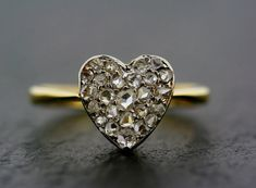 Antique Diamond Ring  18ct Gold by AlistirWoodTait