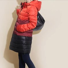 Match Color Down jacket Hooded Women Winter Down Jacket Womens Clothing Custom Made Any Size