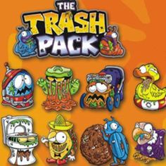 "Trash Pack Mini-Tattoos 1"" Capsules"