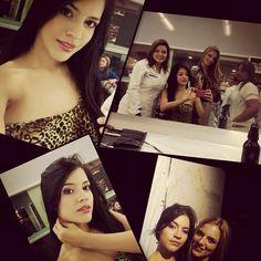 Listas las candidatas de miss mundo colombia 2015 para el video con chocquibtown #vippeluqueria #promakeup #maquillajeespecializado