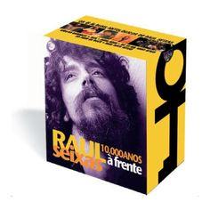 Box Com 6 CDs Raul Seixas 10.000 Anos à Frente