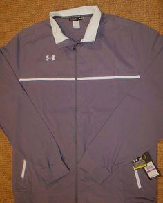 b9247fc286e07 Under armour men s jacket xxlt 2xlt all season gear loose fit gray new