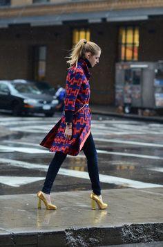 New York street style ~ capitan cool
