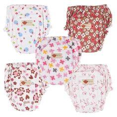 อย่าช้า  Nine กางเกงผ้าอ้อมซักได้ ขาจีบยางสม๊อก รุ่น N2-5A (แบบ A) Pack 5  ราคาเพียง  309 บาท  เท่านั้น คุณสมบัติ มีดังนี้ กางเกงผ้าอ้อมซักได้& ขาจีบยางสม๊อก& ผลิตจากผ้า Cotton& มีชั้นซึมซับปัสสาวะ 10 ชั้น