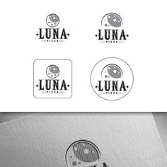 Create a great logo for a cool new craft pizza cafe (Luna Pizza) that is still in the concept phase. by Nikola 81