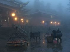 Sacred Mountain, Lake Mountain, Study Architecture, L5r, Environment Design, Fantasy Inspiration, Interior Exterior, China, Image