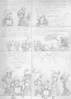 Paternal Message 2 by oobidoobi on DeviantArt Dc Anime, Anime Meme, Rwby Jaune, Rwby Rose, Rwby Memes, Rwby Comic, Rwby Ships, Rwby Fanart, Red Vs Blue