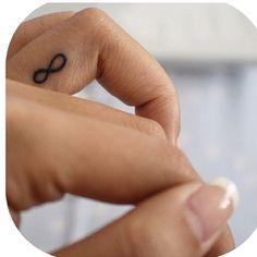ring finger tattoo - infinity .... Please Alexis? :) @Lexa W korynne