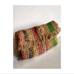 Diy Tassel, Summer Bags, Knitted Bags, Mini Bag, Bag Making, Crochet Projects, Straw Bag, Creations, Weaving