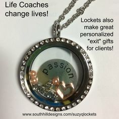 Life Coaches! Check this out - As a Life Coach myself, I flipped with I saw the new charm from South Hill Designs! I love working both businesses - and this charm just made my heart go pitter patter! Celebrate your clients' successes with a personalized gift! Message me for more info. I'd love to tell you how you can earn free jewelry too! www.southhilldesigns.com/suzyqlockets  #lifecoach #coach #weightcoach #gifts #clients #charms #lockets #midlifecrisis #midlife
