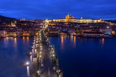 Prague – city of a hundred spires ‹ Blaz Gvajc #prague #praha #photography #charlesbridge #castle #capital #hradcany