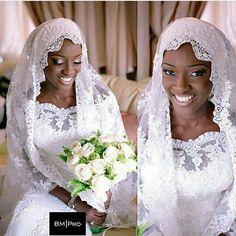 Good morning Nigeria!  #bride #bridal #bridalinspiration #muslimbride #idonigeria