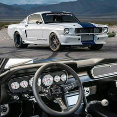 1965 Ford Mustang Shelby GT 350 CR 545 hp.