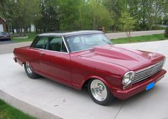 1964 Chevy II Nova SS Maintenance of old vehicles: the material for new cogs/casters/gears/pads could be cast polyamide which I (Cast polyamide) can produce