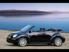 VW Beetle Convertible (I actually have one of these, but am probably selling it in the Spring)
