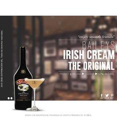 El licor Baileys es la crema de whisky más conocida, una combinación única de fresca crema de leche, whiskey irlandés y materias primas de alta calidad (vainilla, cacao y azúcar). El 80% de los ingredientes utilizados en la elaboración de Baileys proviene de la isla de Irlanda, lugar donde se produce y embotella de manera exclusiva.