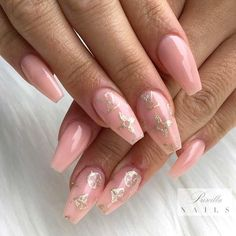Uncompromising Beige for Elegant Nail Design. Hot Color Shades to Stay Fashionable with Ballerina… - coffin #nails #nailscoffin #coffinnails