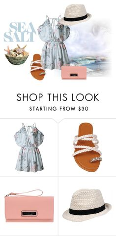 """""""Just Add Ocean"""" by wilsonsleather ❤ liked on Polyvore featuring Marc New York and Wilsons Leather"""
