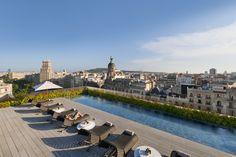 Mandarin Oriental, Barcelona - Terrat Rooftop Dipping Pool