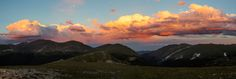 Pink Clouds From Huffer's Hill   Photo by Jacob W. Frank   Rocky Mountain National Park. (pinned by haw-creek.com)