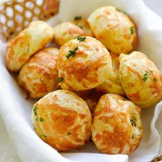 Cheese Puffs (Gougeres) | Easy Delicious Recipes