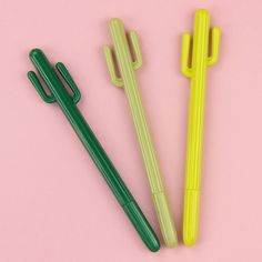 1 Pcs Caneta Gel Canetas Caneta Cactus Grama Verde Personalidade Escrevendo Artigos de Papelaria material de Escritório Material Escolar Caneta Gel