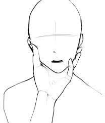 a shush face drawing reference - Google Search