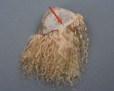 Кукольный парик из овчины
